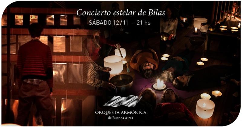Orquesta Armónica de Buenos Aires concierto de Bilas